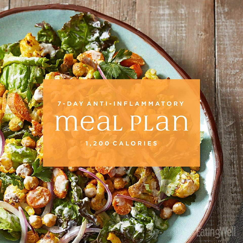 7-Day Anti-Inflammatory Diet Meal Plan: 1,200 Calories