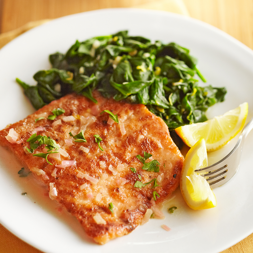 Lemon-Glazed Trout