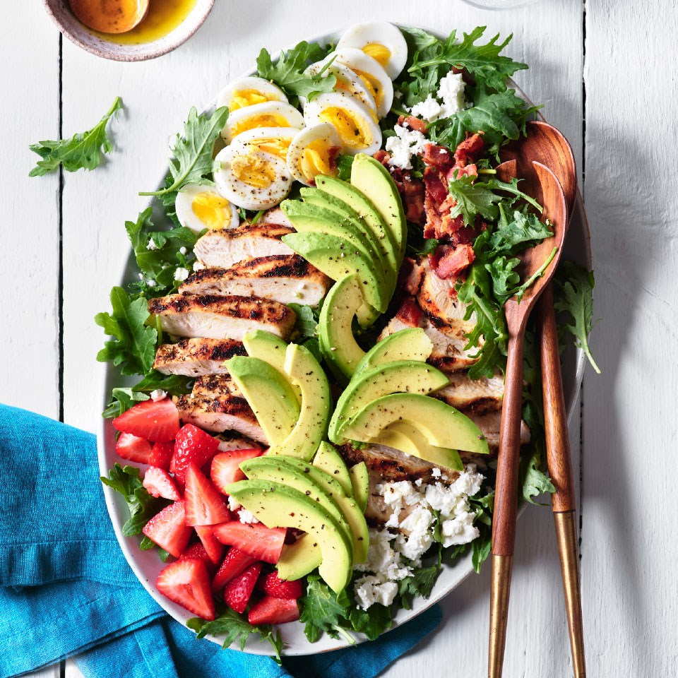 Cobb Salad with Herb-Rubbed Chicken