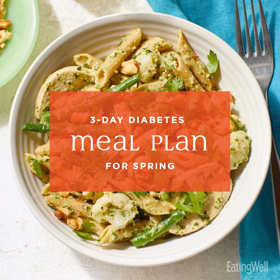 3-Day Diabetes Meal Plan for Spring