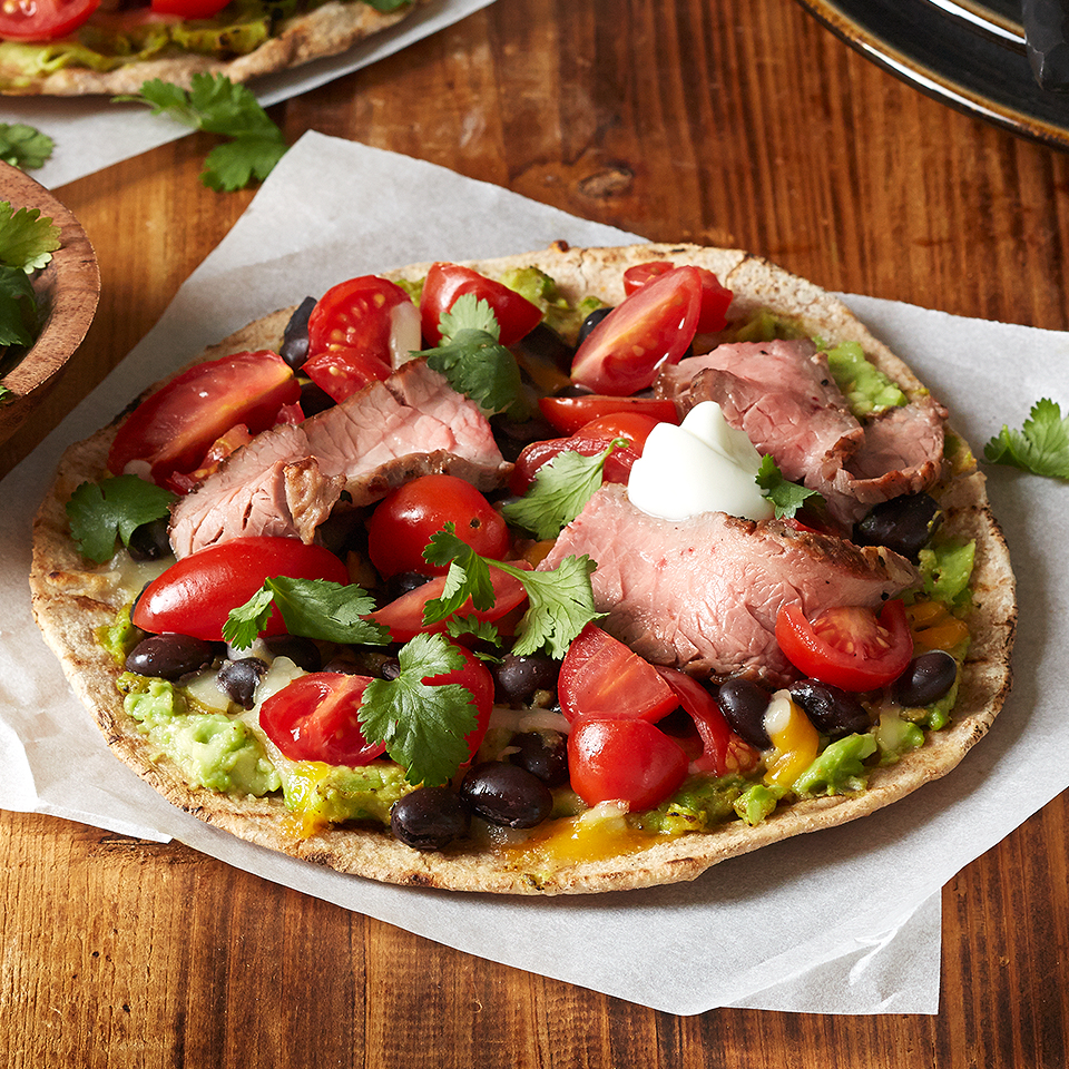 Southwestern Steak Pizza