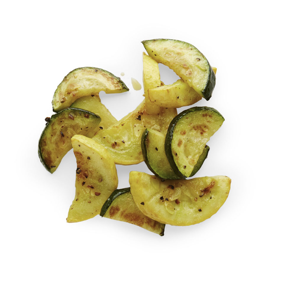 Roasted Summer Squash