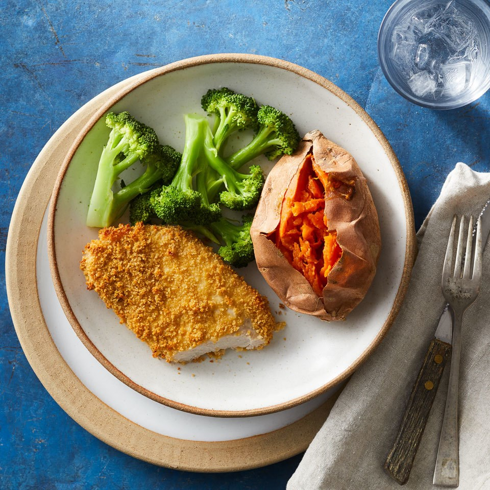 Healthy Oven-Fried Pork Chops