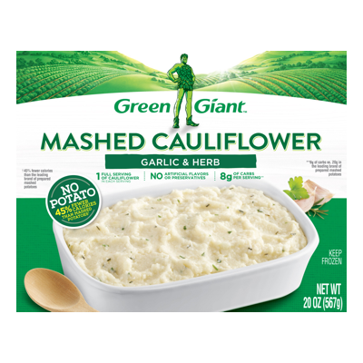 Green Giant Garlic & Herb Mashed Cauliflower