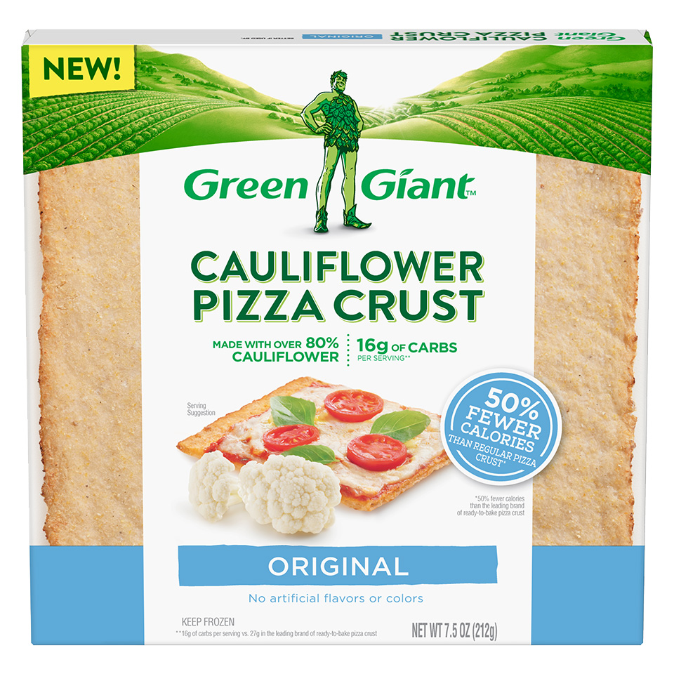 Green Giant Cauliflower Pizza Crust