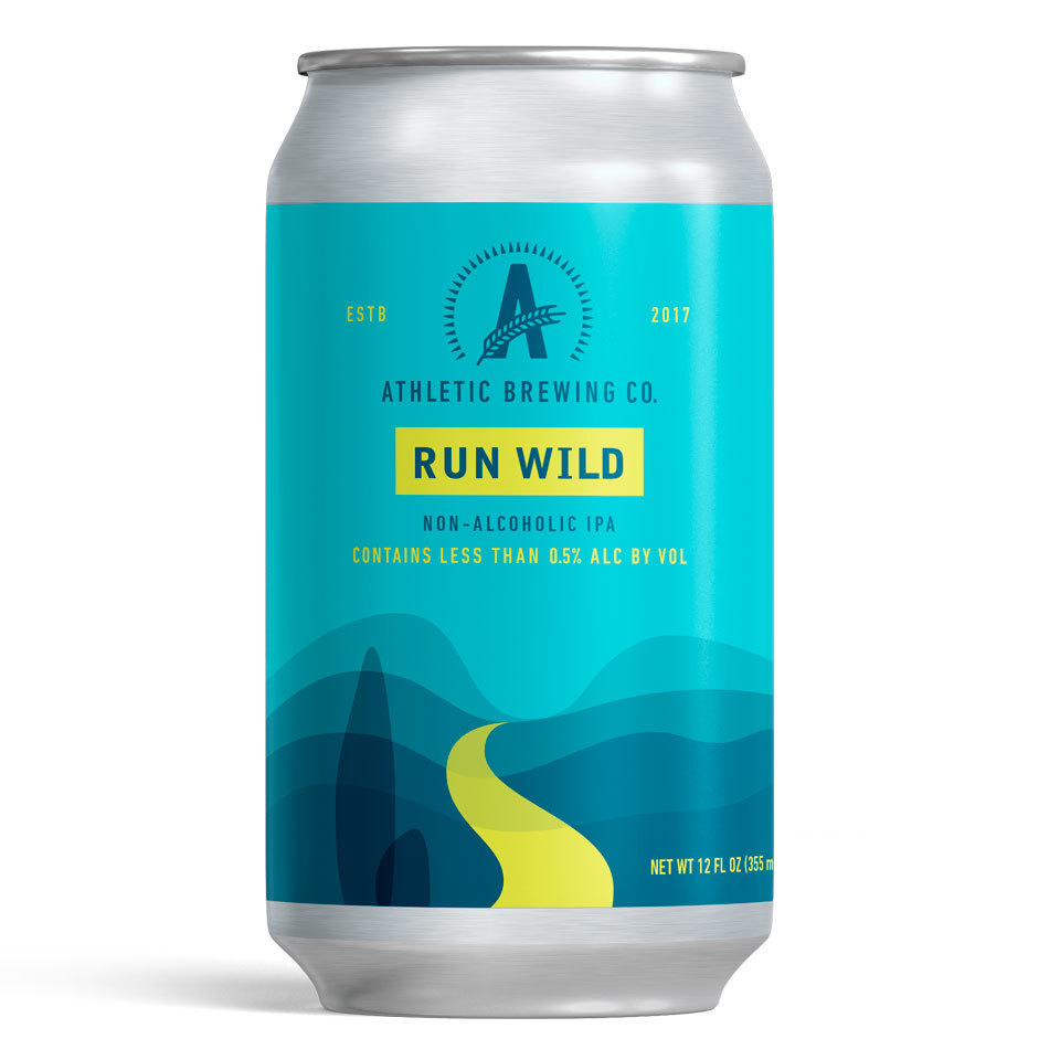 Athletic Brewing Non Alcoholic Beer