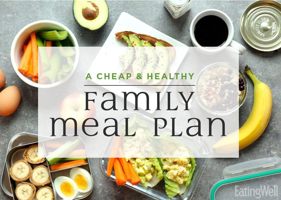 A Cheap, Healthy Meal Plan to Feed My Family