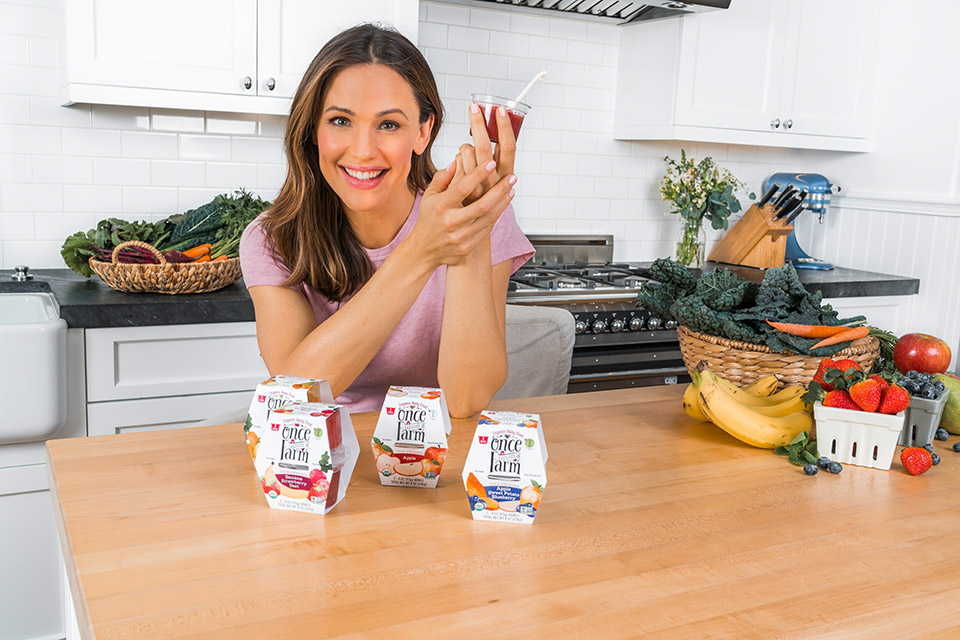 jennifer garner baby food