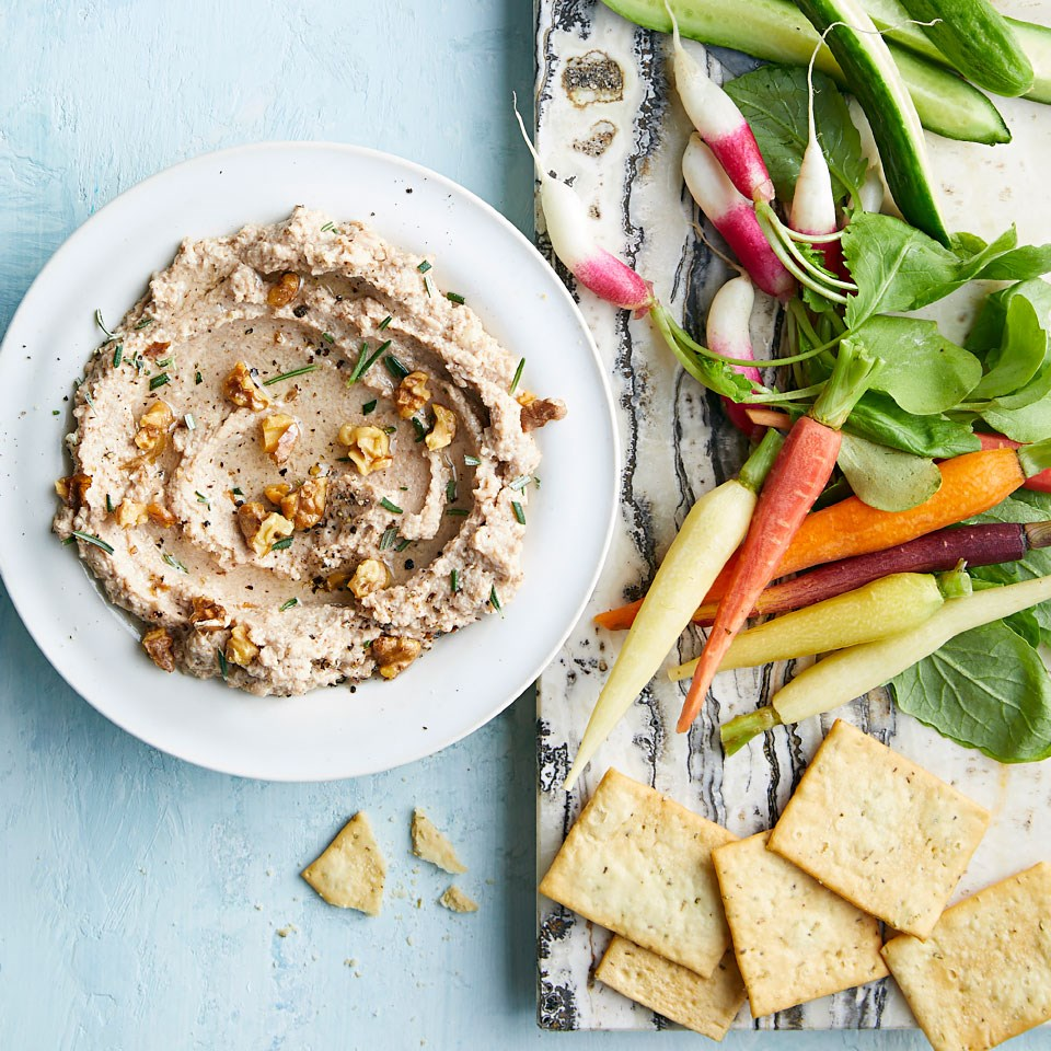 Roasted Cauliflower & Walnut Dip