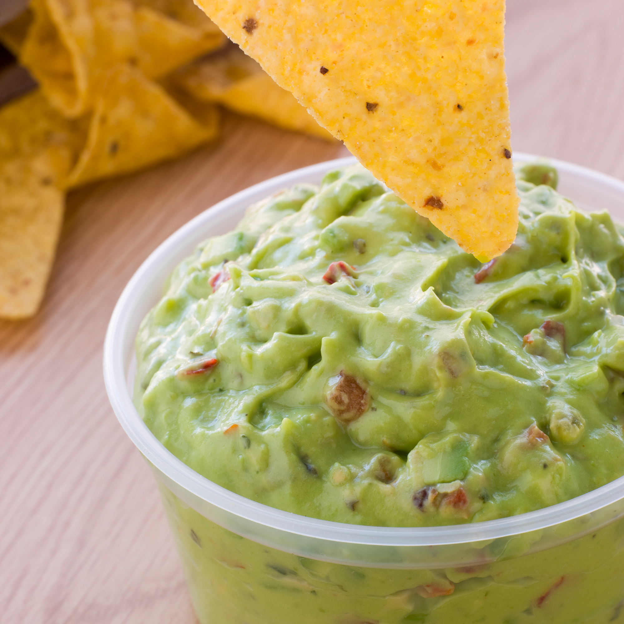 Store Bought Guacamole Dip