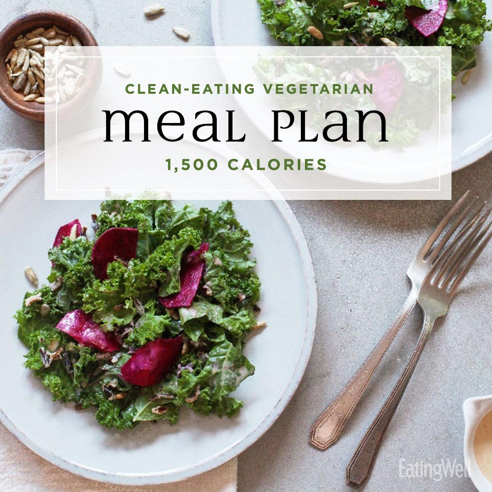 Clean-Eating Vegetarian Meal Plan to Lose Weight: 1,500 Calories