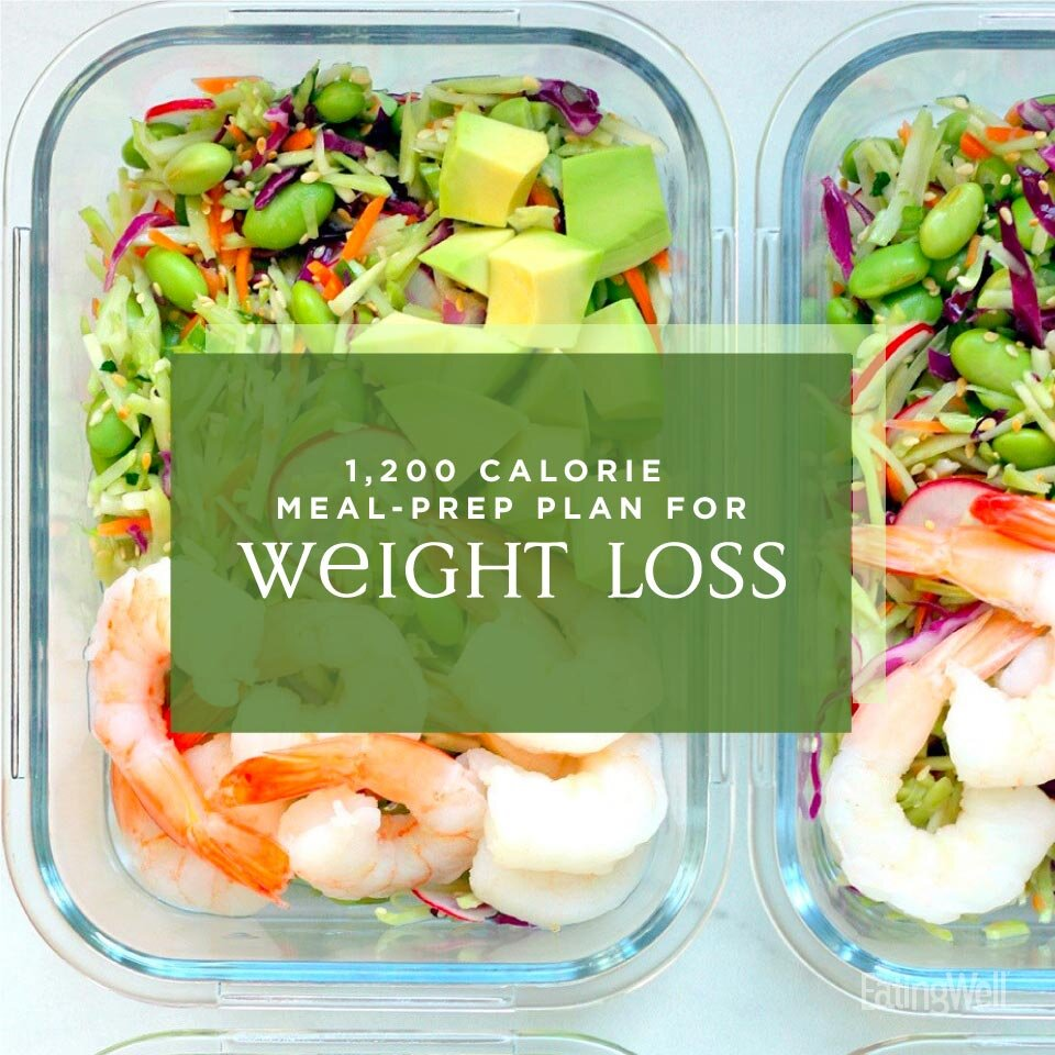 Easy Meal Prep Plan For Weight Loss 1 200 Calories Eatingwell