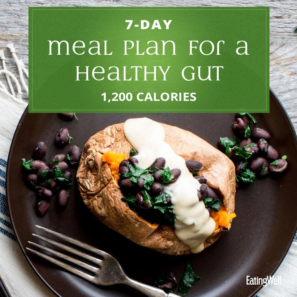 7-Day Meal Plan for a Healthy Gut: 1,200 Calories