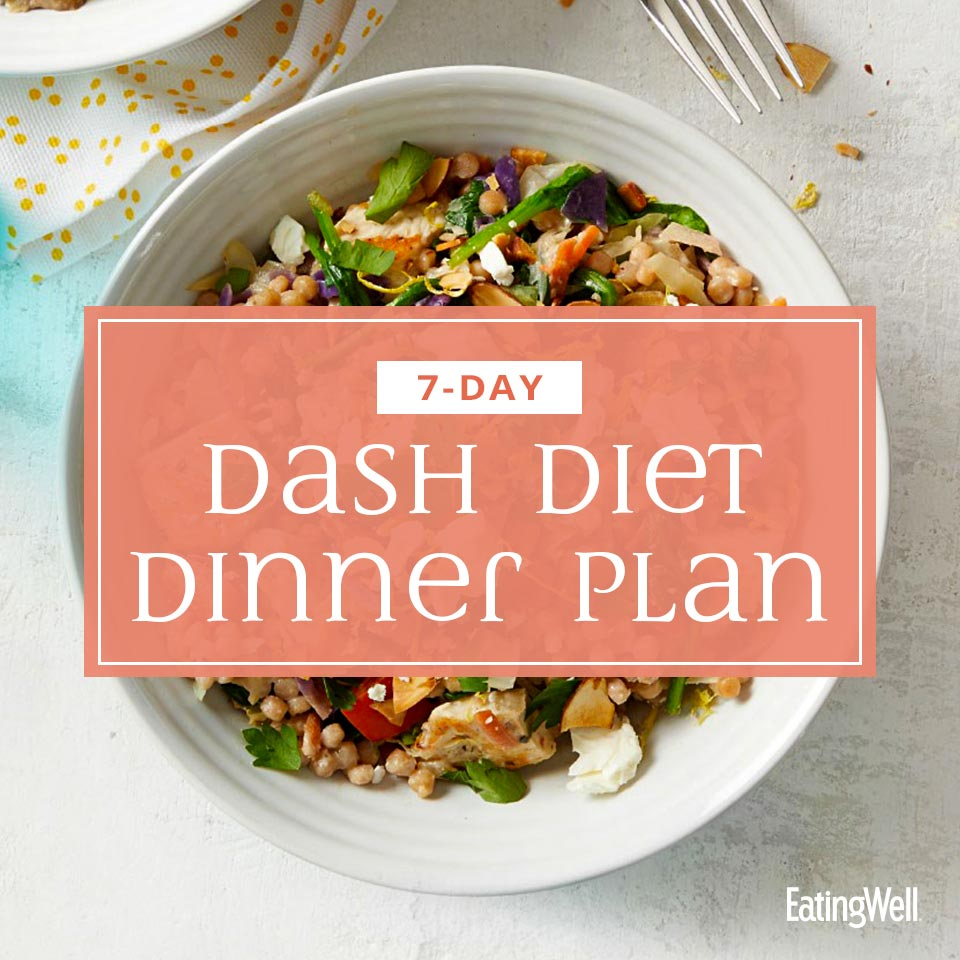 DASH Diet Dinner Plan