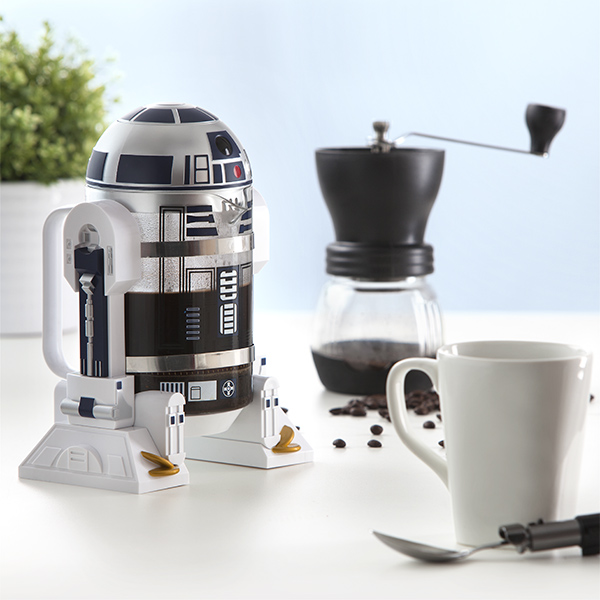 R2 D2 coffee press