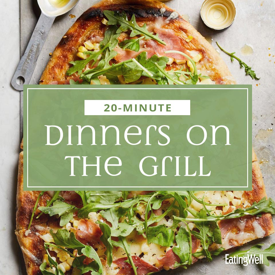 20-minute Dinners on the grill