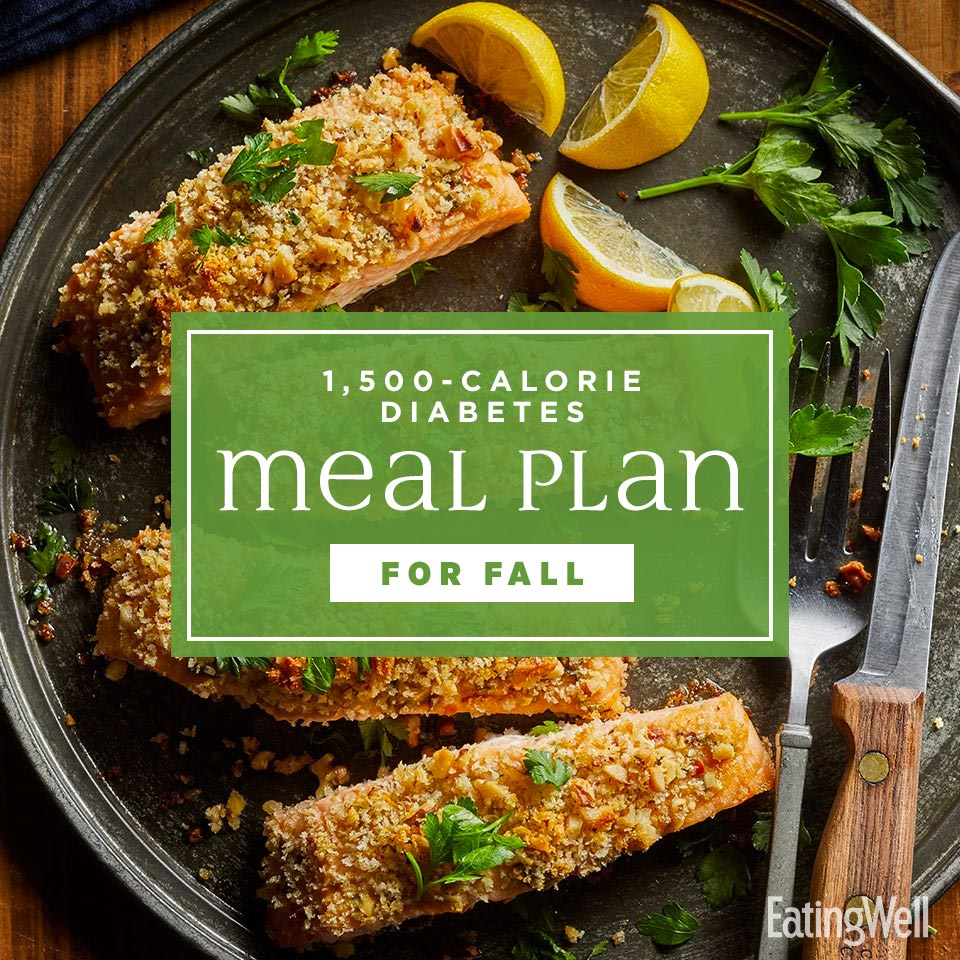 Diabetes Meal Plan for Fall: 1,500 Calories