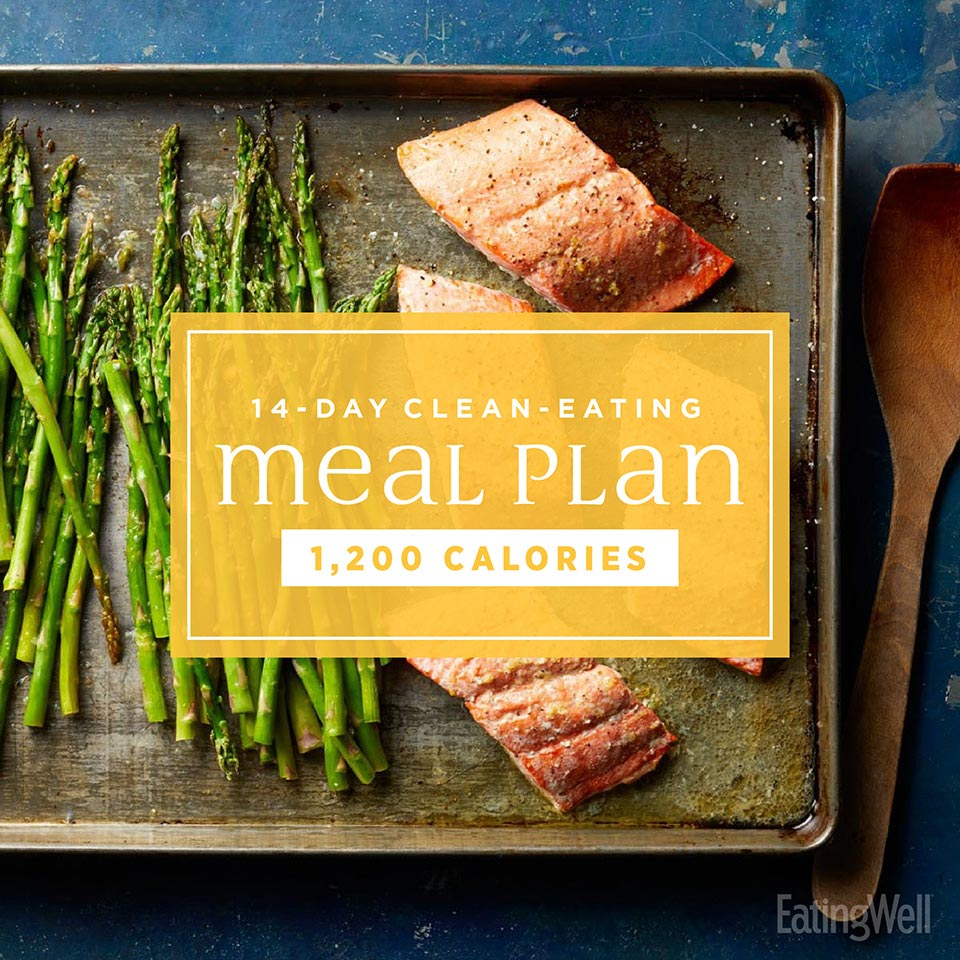 14-day clean-eating meal plan
