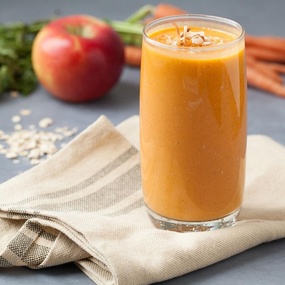 carrot cake smoothie recipe