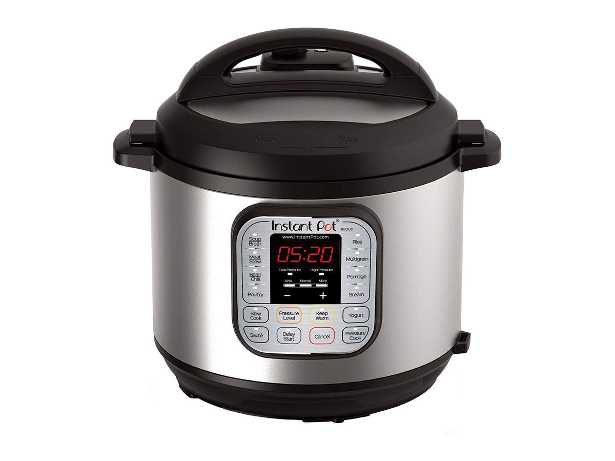 instant pot duo60 6 qt 7-in-1 multi-use programmable pressure-cooker