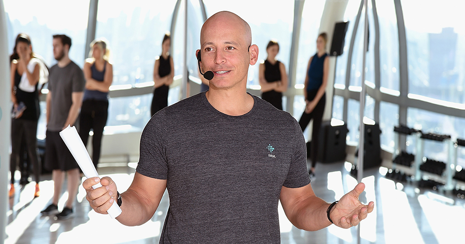 Harley Pasternak in a workout space