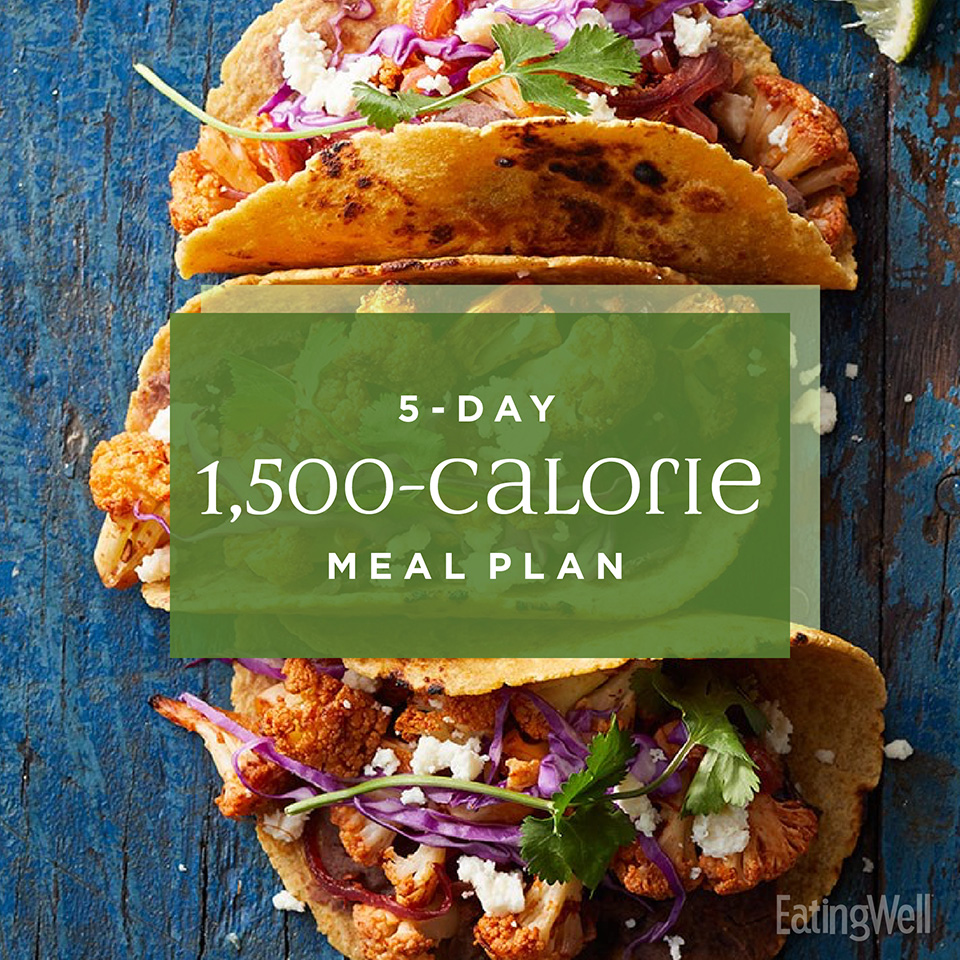 5-Day 1,500-Calorie Diet Meal Plan