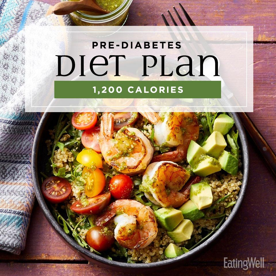 prediabetes diet plan at 1200 calories