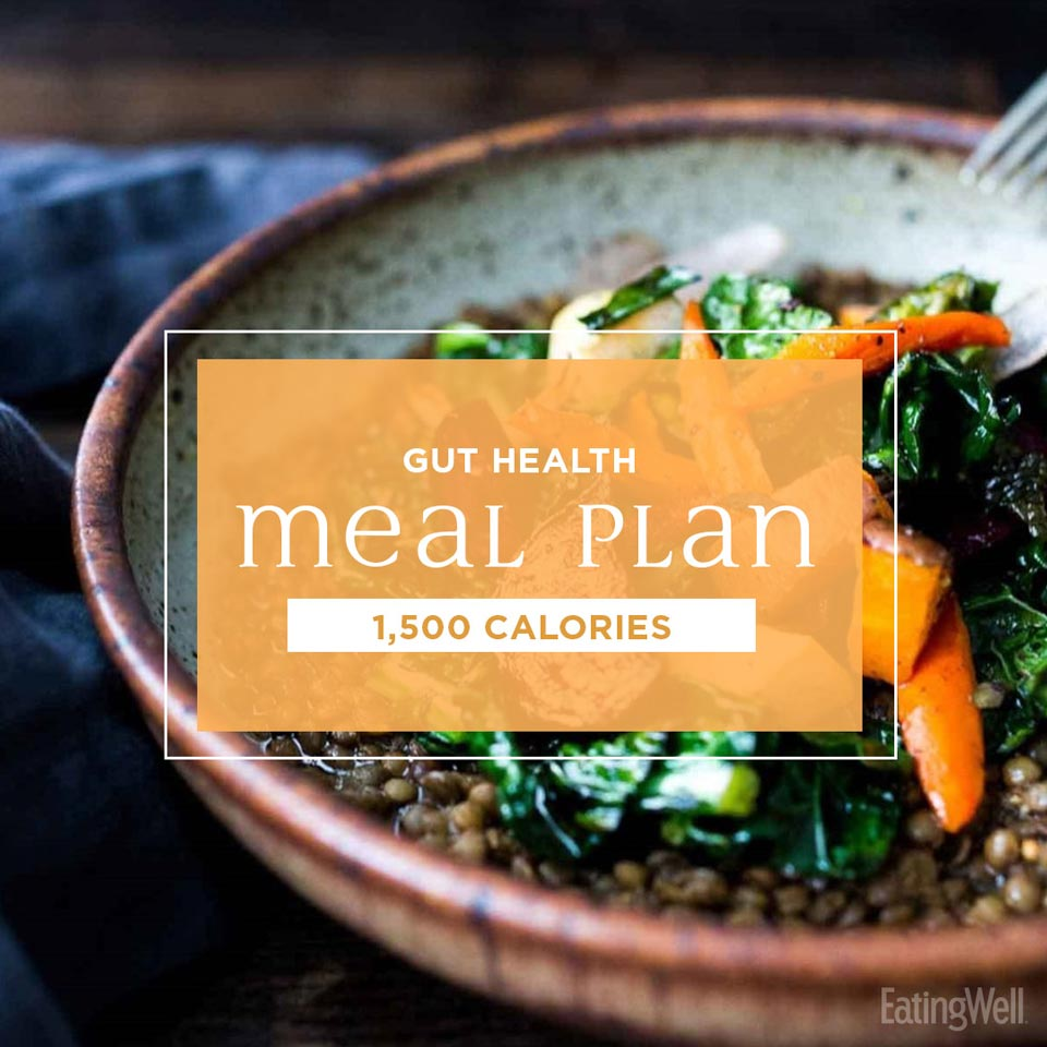 gut health meal plan 1500 calories