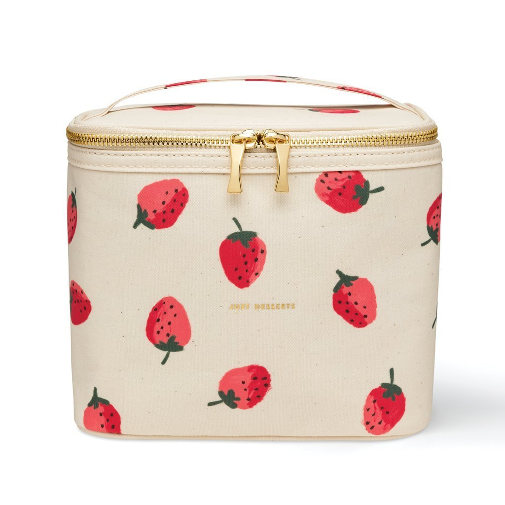 Kate Spade NY Strawberry Lunch Tote on white background