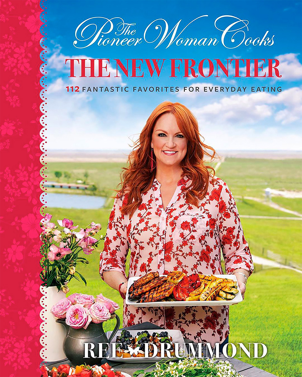 The Pioneer Woman cook book cover