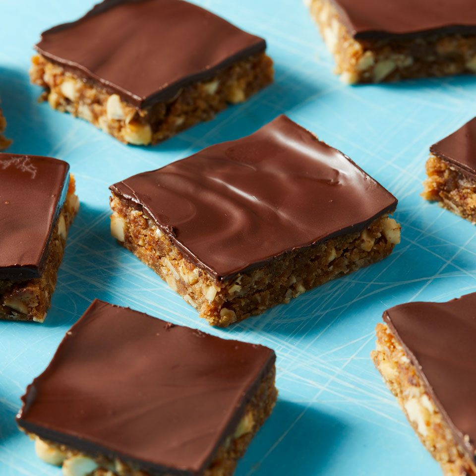Chocolate-Peanut Butter Energy Bars