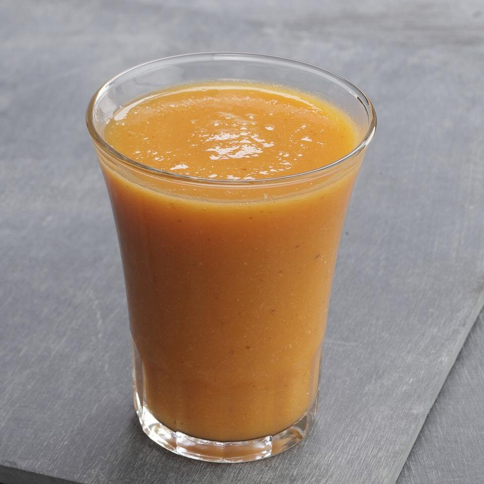 """Get Your Orange"""" Flax Smoothie Recipe   EatingWell"""