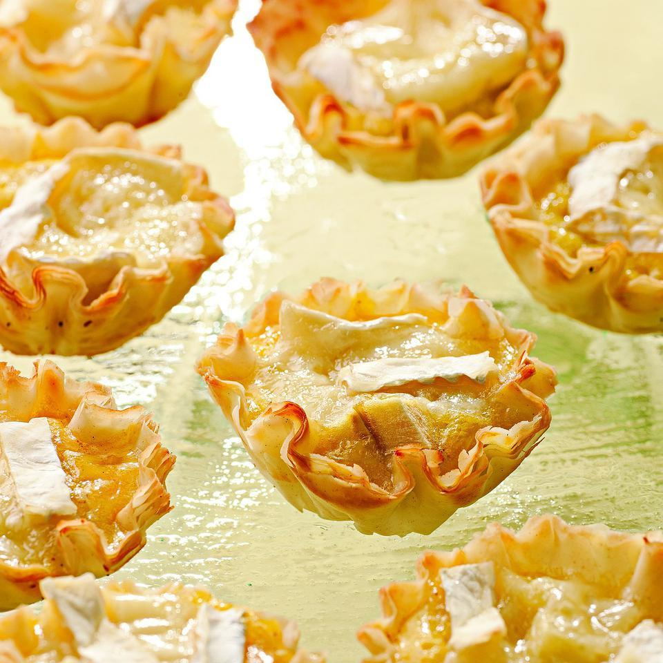 Mini Brie & Apple Quiches