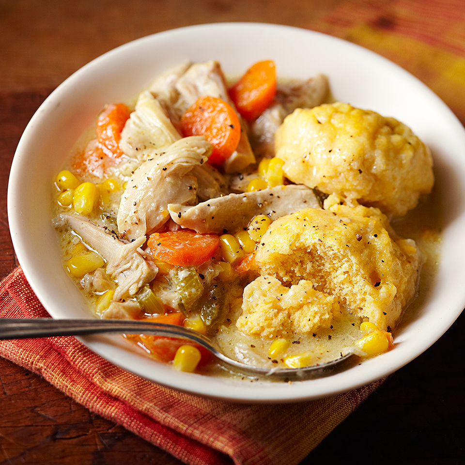 Chicken & Cornmeal Dumplings