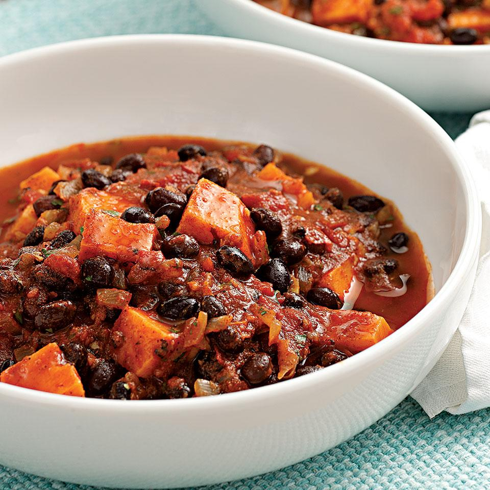 Sweet Potato Black Bean Chili Recipe Eatingwell
