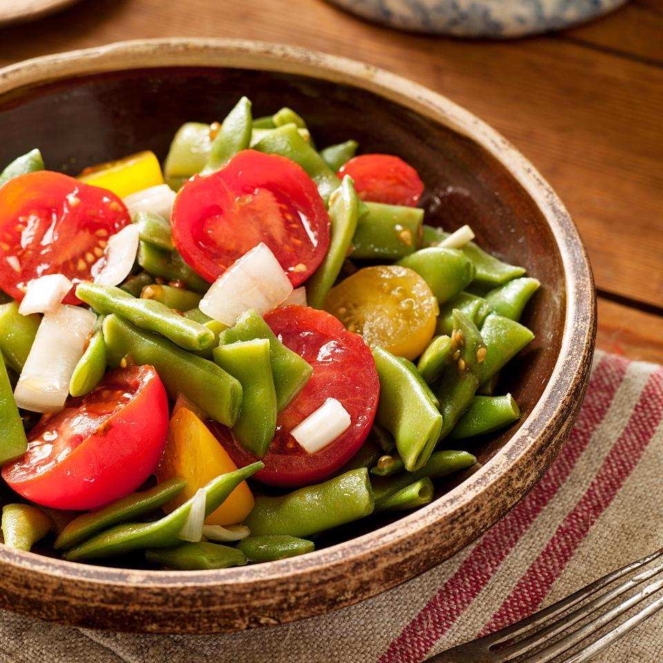 Green Bean & Tommy-Toe Salad