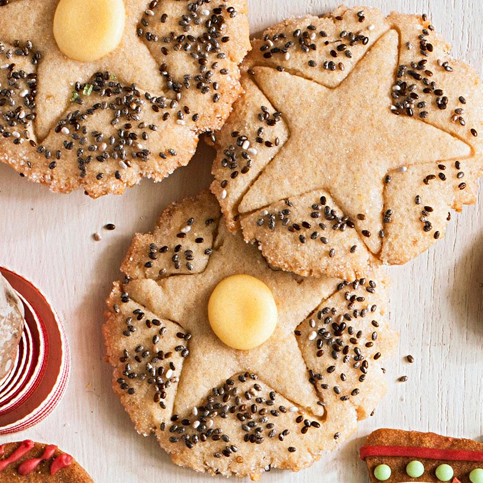 Chia Seed Sugar Cookie Thins