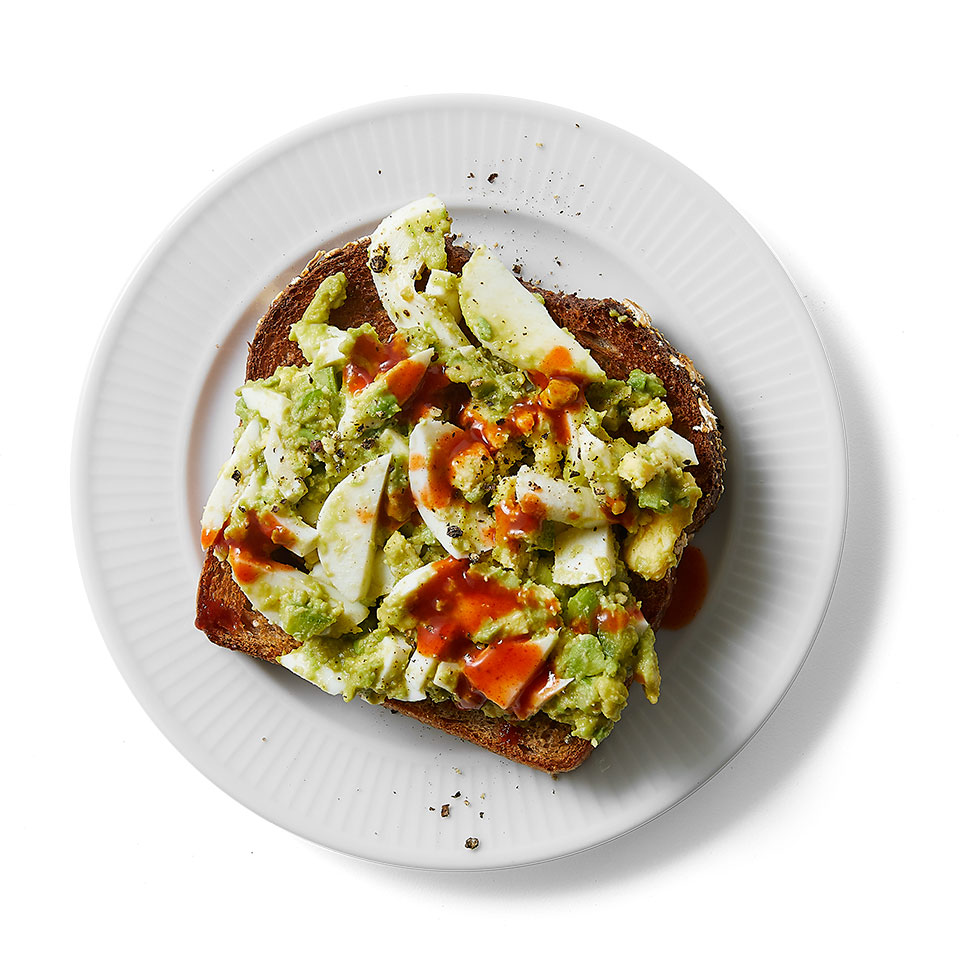Egg Salad Avocado Toast