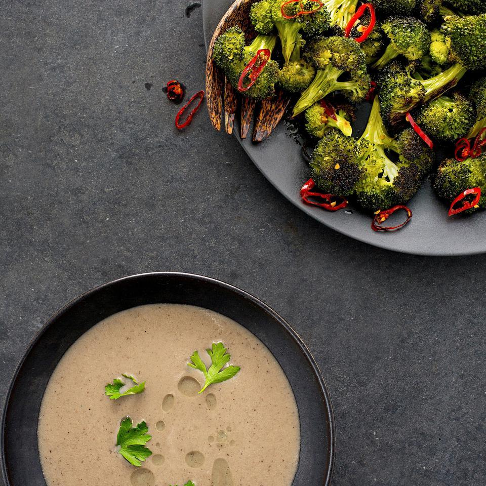 Chile-Roasted Broccoli