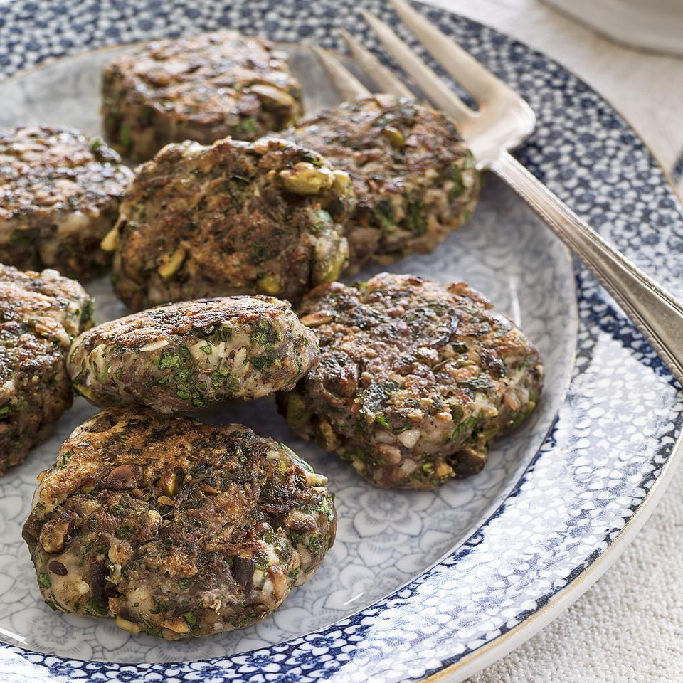 Pistachio Breakfast Sausage Patties