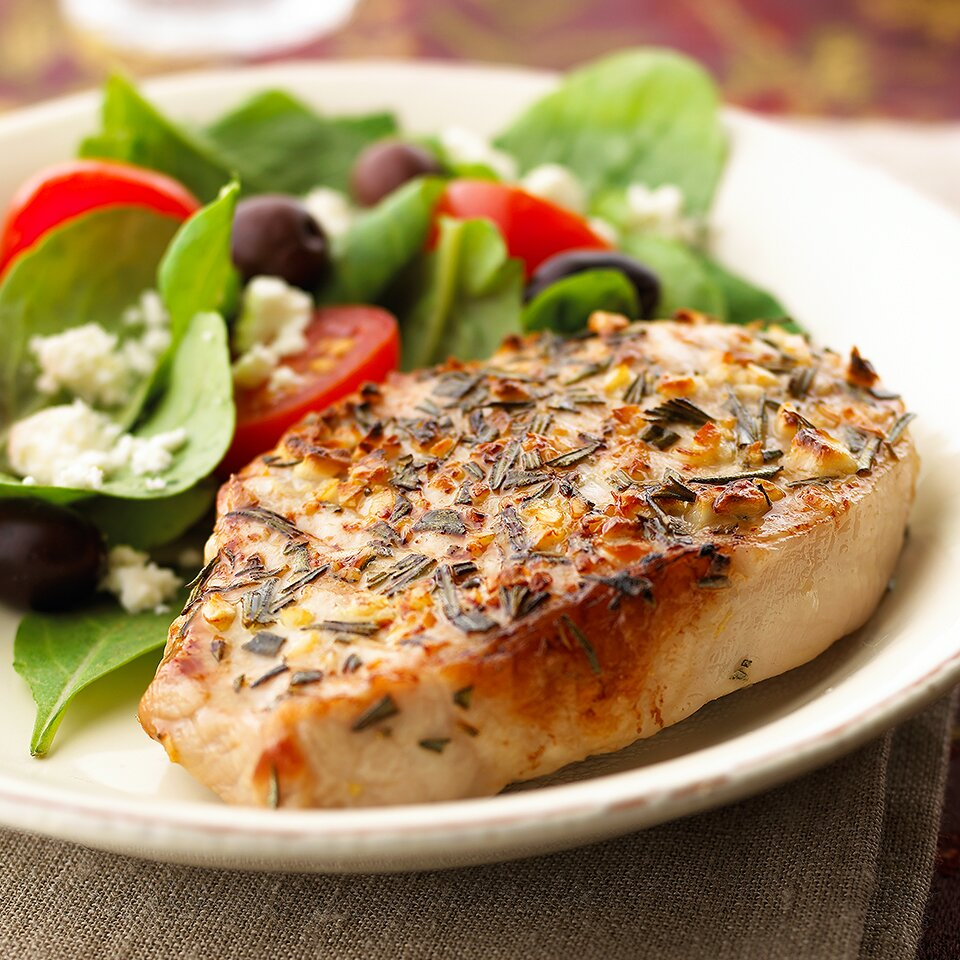 Mediterranean Pork Chops Recipe Eatingwell
