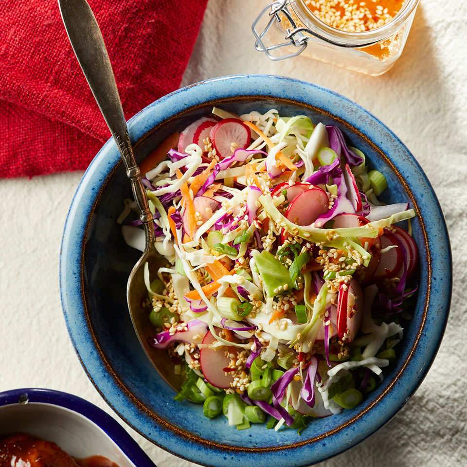 Spicy Cabbage Slaw