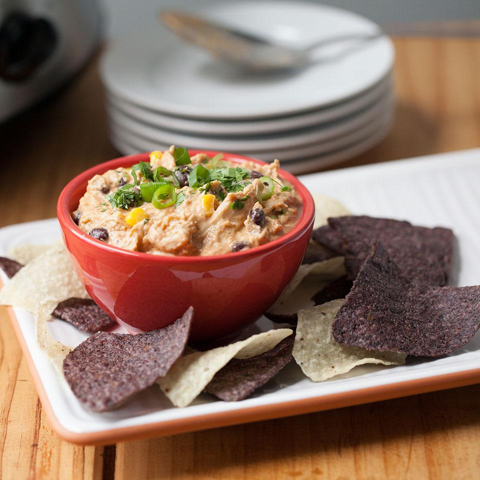 Slow-Cooker Chicken Enchilada Dip
