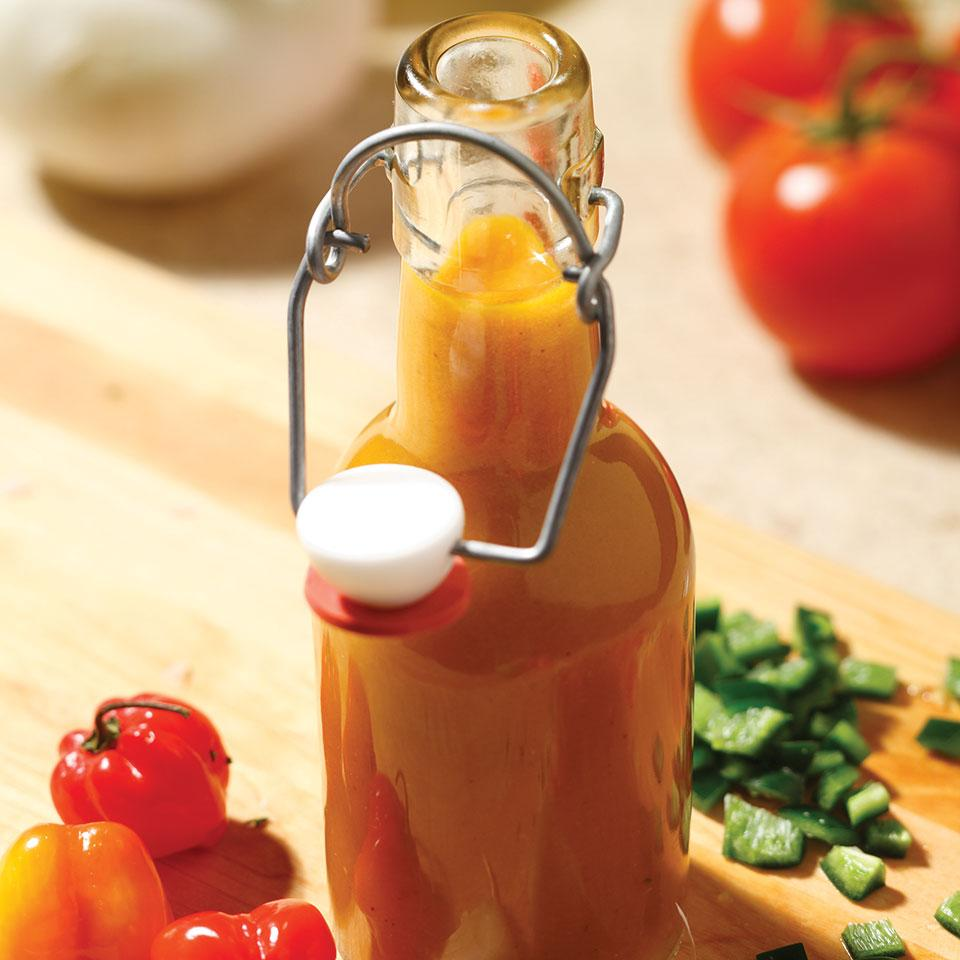 Homemade Hot Sauce