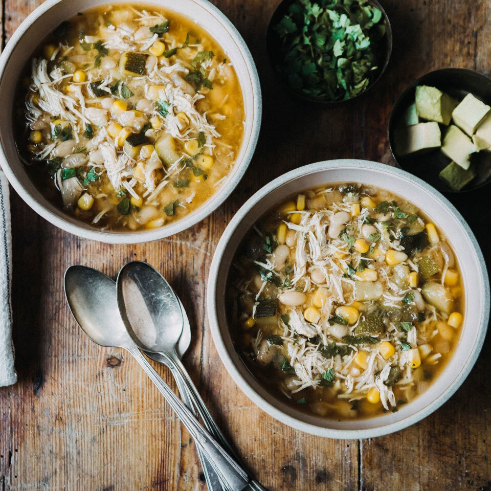 Instant Pot White Chicken Chili Freezer Pack Recipe Eatingwell