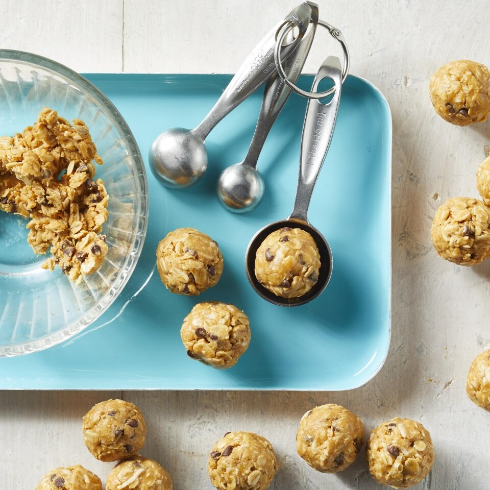 Peanut Butter Energy Balls Recipe Eatingwell