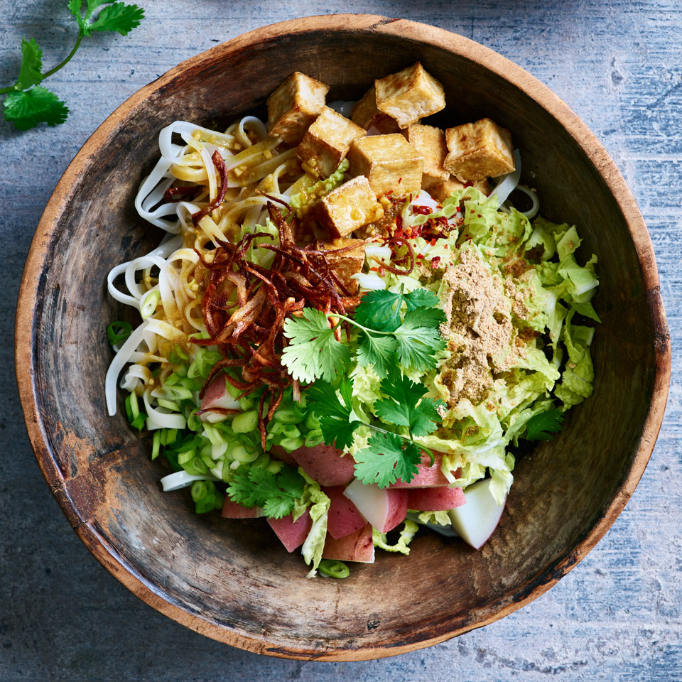 Noodle Salad with Tofu