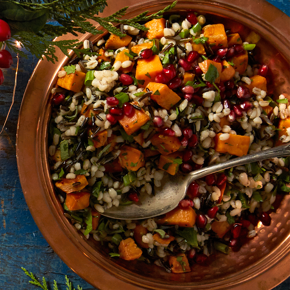 Sweet Potato and Wild Rice Dressing