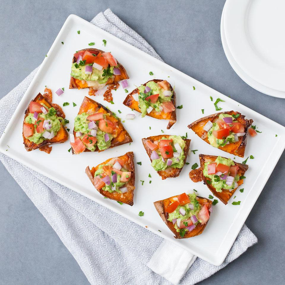 Sweet Potato Skins with Guacamole