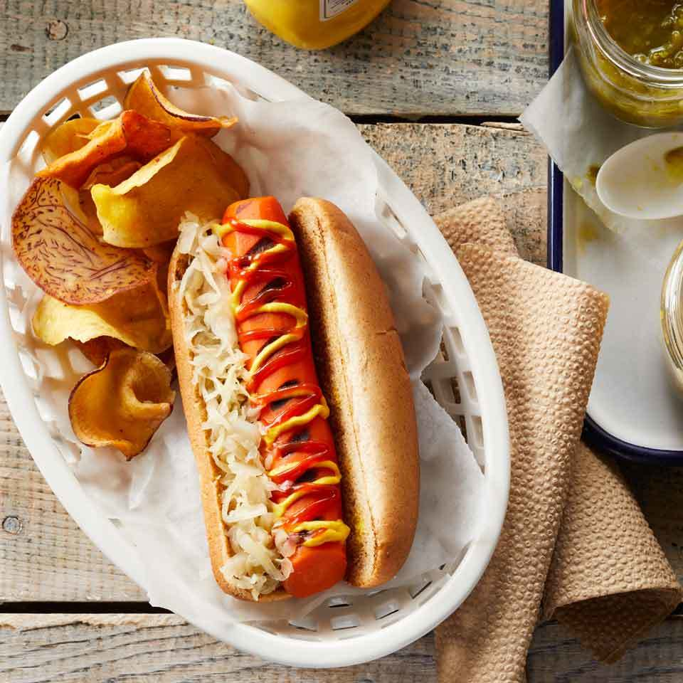 BBQ Carrot Dogs
